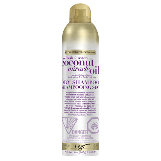 OGX Refresh & Restore Coconut Miracle Oil Dry Shampoo - 235ml