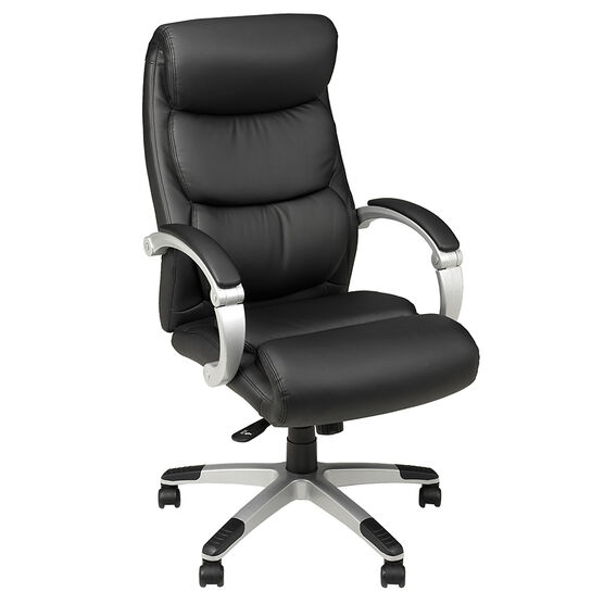 office chair back. london drugs high back office chair - black