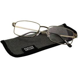 Foster Grant T10 Men's Reading Glasses - Gunmetal - 1.75