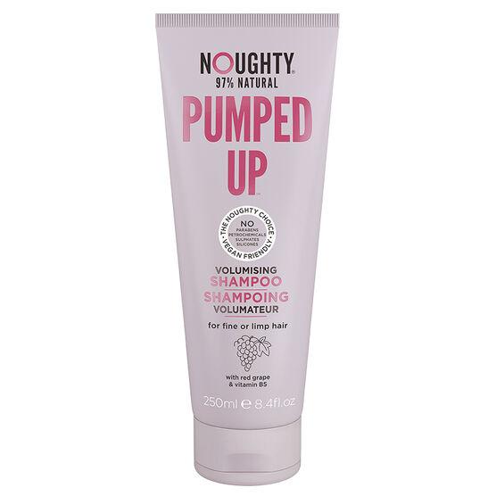 Noughty 97% Natural Pumped Up Shampoo - Volumising - 250ml