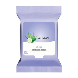 Almay Makeup Remover Towelettes - Oil Free - 25 pack
