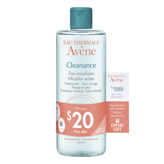 Avene Cleanance Micellar Water Set