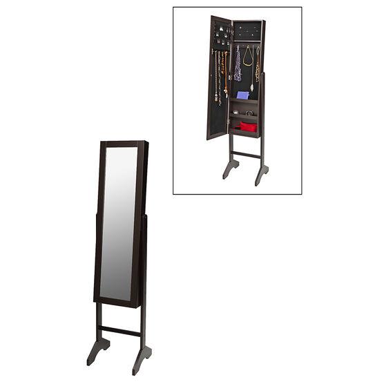 London Drugs Mirror & Jewellery Cabinet - Espresso - AV8571EP