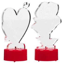 Valentine's Flameless Tea Lights - Assorted
