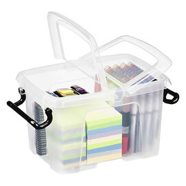 Strata Smart Storemaster Box with Side Opening and Clip Handles - 40L