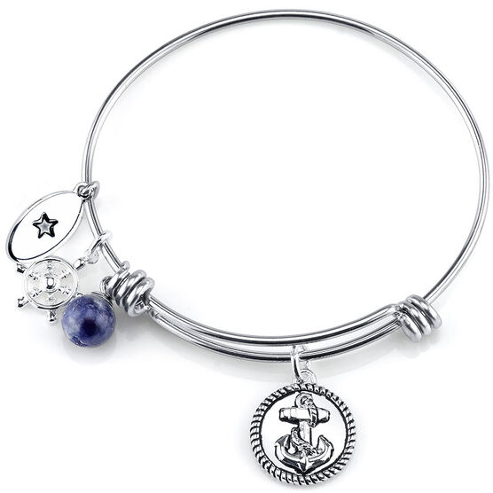 UNWRITTEN Stainless Steel Strength Expandable Bangle
