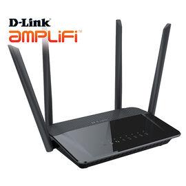 D-Link Wireless AC1200 Dual Band Gigabit Router - Black - DIR-842