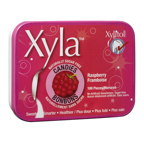 Xyla Candies - Raspberry - 100's