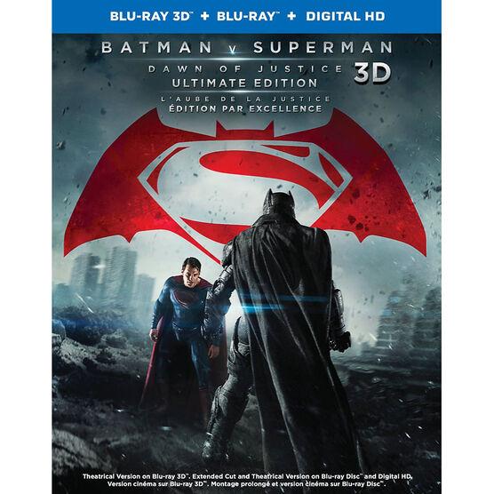 Batman v Superman: Dawn of Justice - 3D Blu-ray