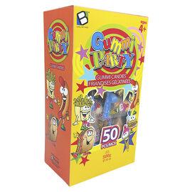 Brands Unlimited Gummi Party Candies - 50 Pieces