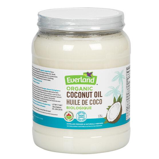 Everland Organic Coconut Oil - 1.75L