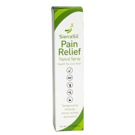 SierraSil Pain Relief Topical Spray - 30ml