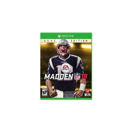 Xbox One Madden NFL 18 GOAT Edition