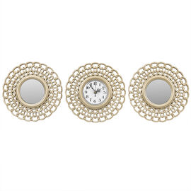 London Drugs Wall Mirror Clock - Chains - Set of 3