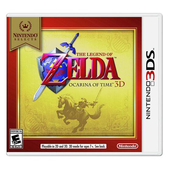 3DS The Legend of Zelda: Ocarina of Time 3D