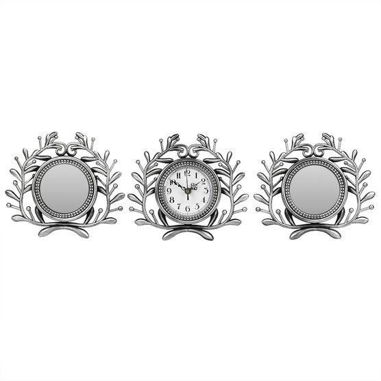 London Drugs Wall Mirror Clock - Vines - Set of 3