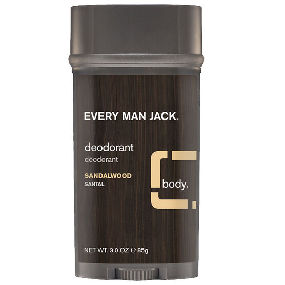 Every Man Jack Deodorant - Sandalwood - 85g