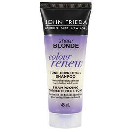 John Frieda Sheer Blonde Colour Renew Shampoo - 45ml