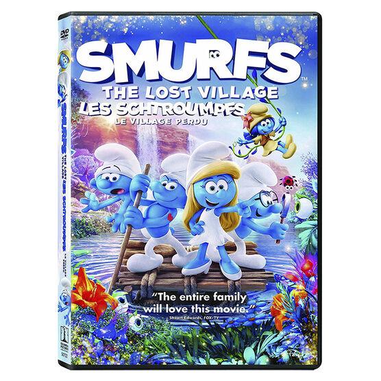 Smurfs: The Lost Village - DVD