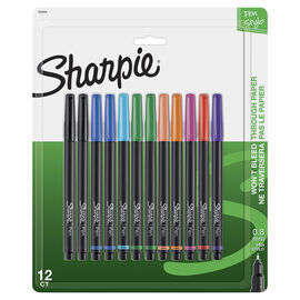 Sharpie Fine Point Style Pens - 0.8mm - 12 Pack