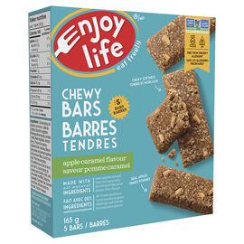 Enjoy Life Chewy Bars - Caramel Apple - 5 pack