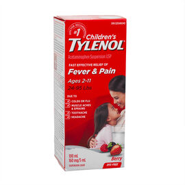 Tylenol* Children's Dye Free Suspension Liquid - Soothing Berry - 100ml