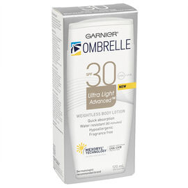 Ombrelle Ultra Light Weight Body Lotion - SPF30 - 120ml