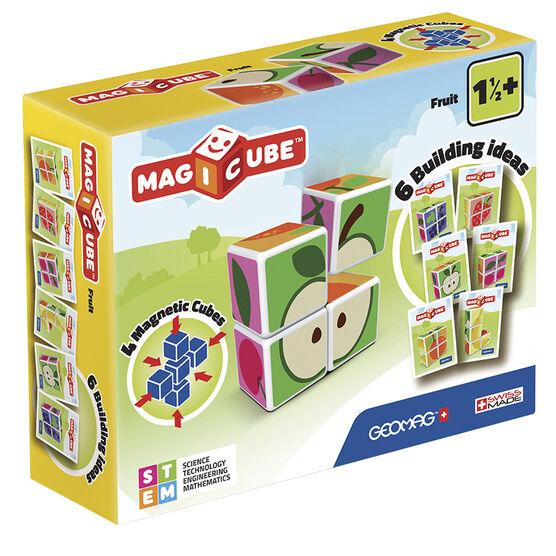 Geomag Magicube Fruit - 4 Piece