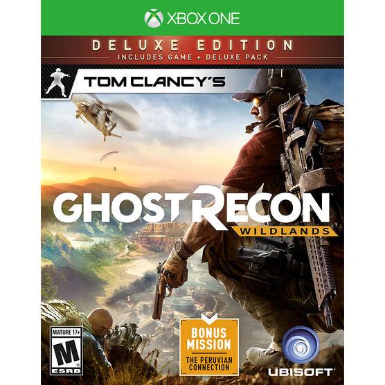 XBOX One Tom Clancys Ghost Recon Wildlands - Deluxe Edition