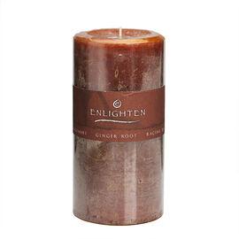 Enlighten Pillar Candle - Ginger Root - 3 x 6inch