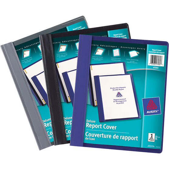 Avery Deluxe Report Cover - Assorted