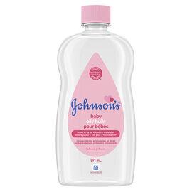 Johnson & Johnson Baby Oil - 591ml