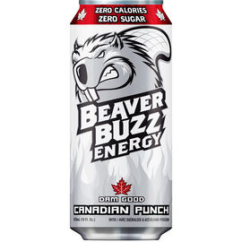 Beaver Buzz - Calorie Burner - Canadian Punch - 473ml