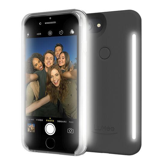 LuMee Duo Illuminating Case for iPhone 7 - Black - LMLDIP7BLK