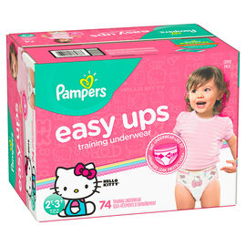 Pampers Easy Ups Training Underwear - 2T/3T - 74ct