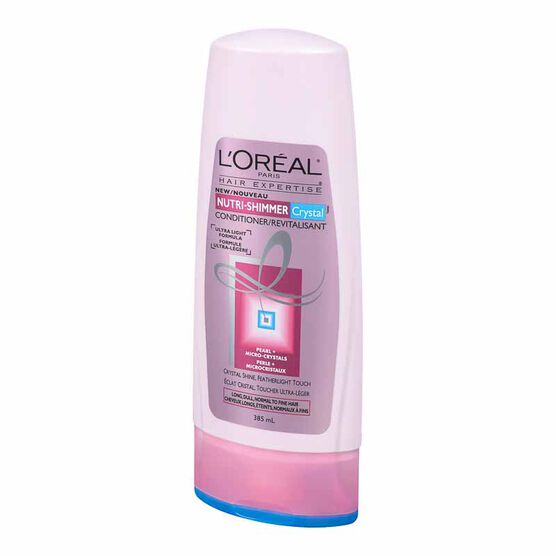 L'Oreal Nutri-Shimmer Crystal Conditioner- Normal to Fine Hair - 385ml