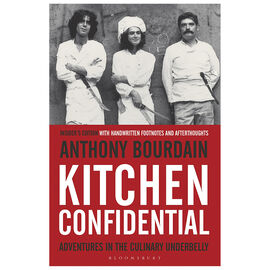 Kitchen Confidential by Anthony Bourdain - Updated Edition