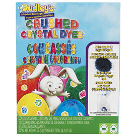 Dudley's Eggceptional Decorating Kit - Crushed Crystal Dyes