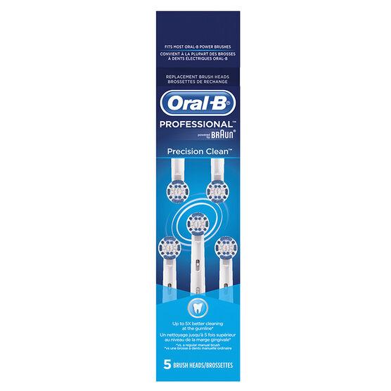 Oral-B Precision Clean Brush Heads - 5's