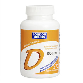 London Drugs Vitamin D - 1000IU - 270's