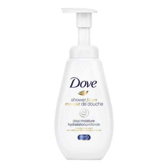 Dove Shower Foam Body Wash - Deep Moisture - 400ml