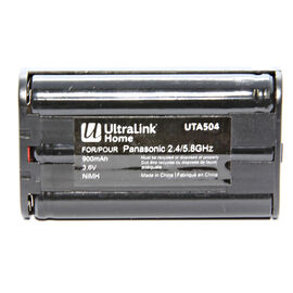 UltraLink Cordless Phone Battery for Panasonic 2.4/5.8GHz- UTA504