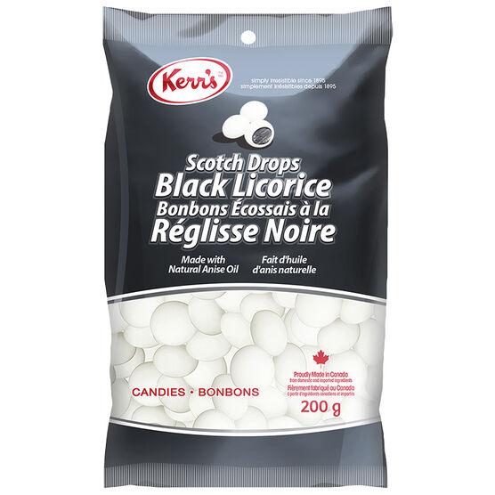 Kerr's Scotch Drops Black Licorice - 200g