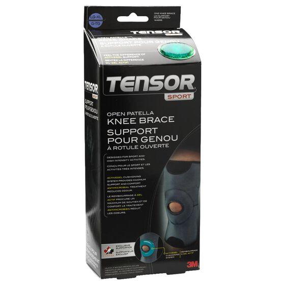 Tensor Sport Open Patella Knee Brace - Large/Extra Large