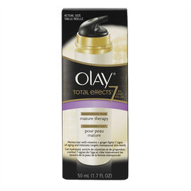 Olay Total Effects 7-in-1 Anti-Aging Moisturizer Mature Skin Therapy - 50ml