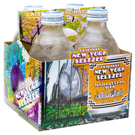 New York Seltzer Vanilla Cream 4 x 296ml