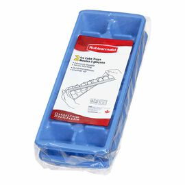 Rubbermaid Ice Cube Tray Set - 2 pack - Blue