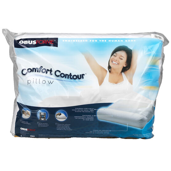 ObusForme Super Soft Contoured Pillow - PL-IRA-ST