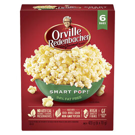 Orville Microwave Smart Pop - 6 Pack / Pop Up Bowl