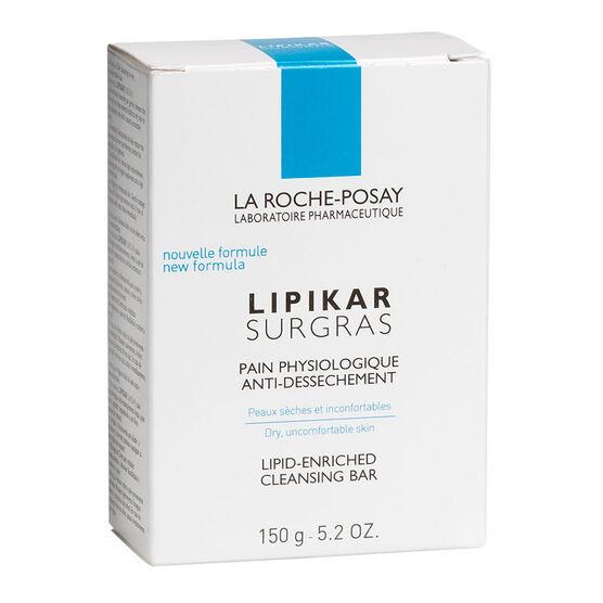 La Roche-Posay Lipikar Surgras Lipid-Enriched Cleansing Bar - 150g